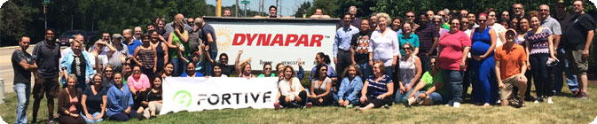 Dynapar Fortive Banner