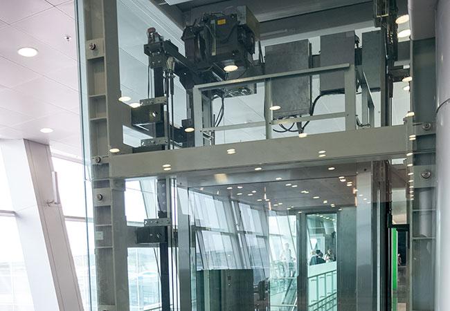 Elevator Encoder Gearless Traction Motor Example