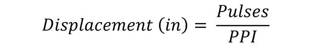 Linear Displacement Formula