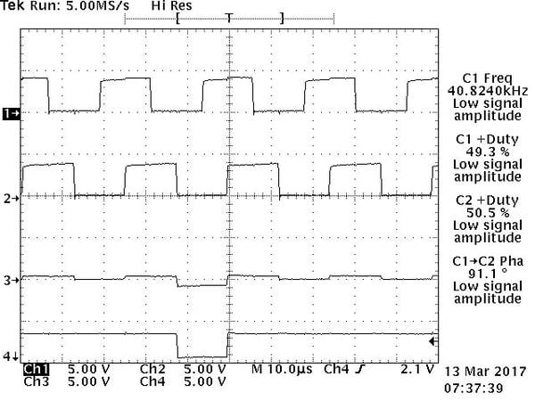Low Amplitude Signal A Open with Crosstalk image