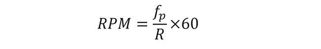 RPM Formula for Encoders