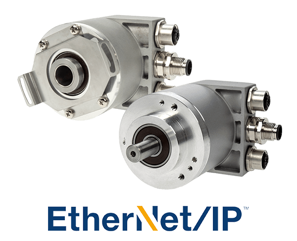 Ethernet Encoders with Shaft and Hub Options