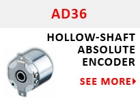 AD36 Hollow-Shaft Gray Code Encoder