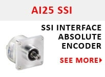AI25 SSI Encoder Serial Output