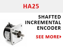 HA25 Shafted Incremental Encoder