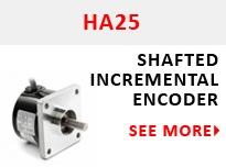HA25 Shafted Incremental Encoder