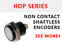 HDP Hall Effect Encoders Non Contact