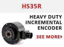 HS35R Heavy Duty Incremental Encoder