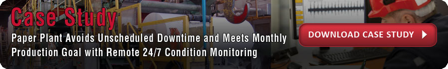 vibration analysis and condition monitoring case study